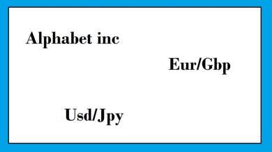 Google, Eur/Gbp, Usd/Jpy