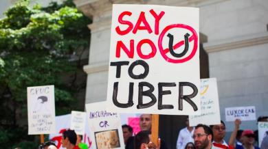 Uber bloccata a Londra
