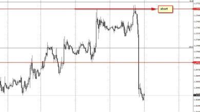mega riassorbimento dell'euro...