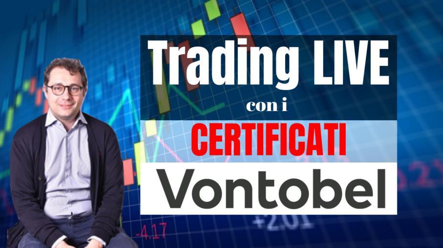 Trading Live con i certificati Vontobel